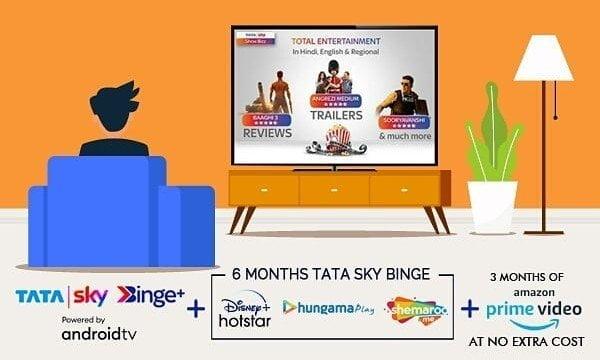 Tata Sky Binge Service